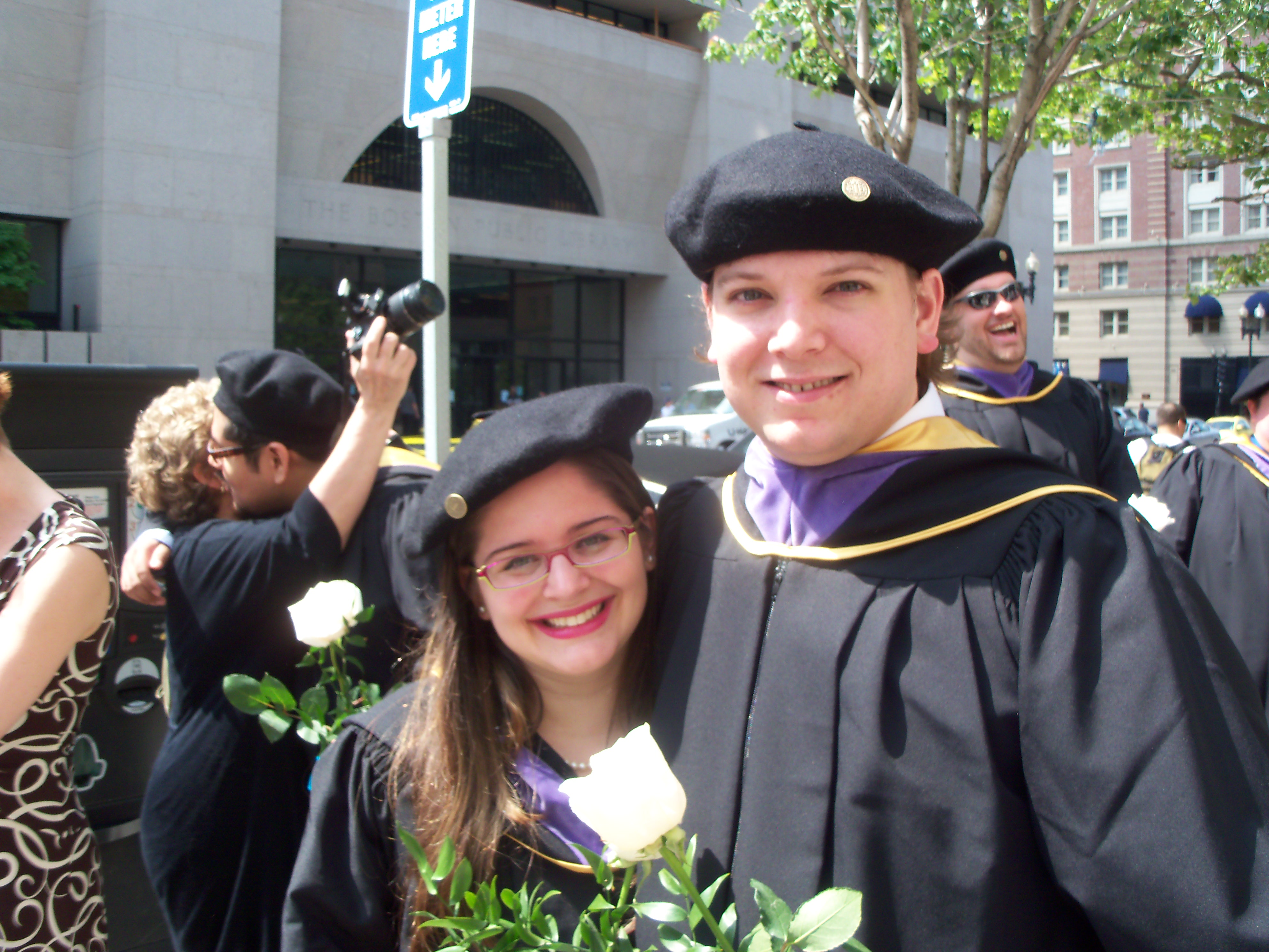 Graduation: Boston Architectural College Commencement Part 1 - I am a Honey  Bee